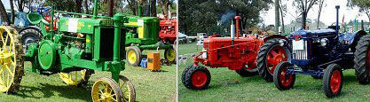 Vintage Tractor Fair in the Free State