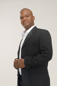 Up and coming local tenor, Given Nkosi 